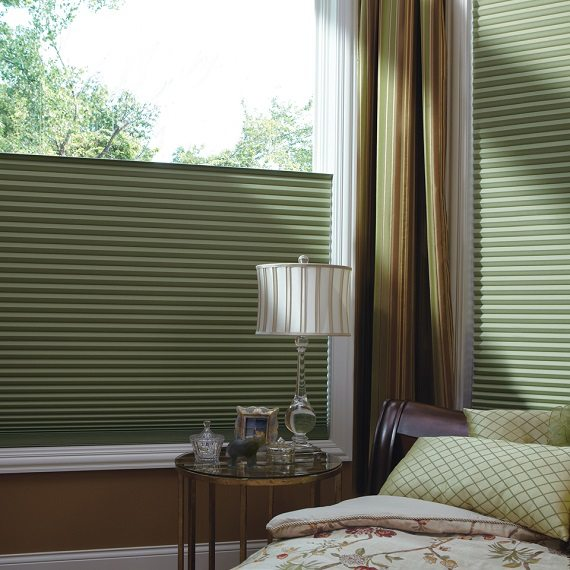 Motorized Honeycomb shades