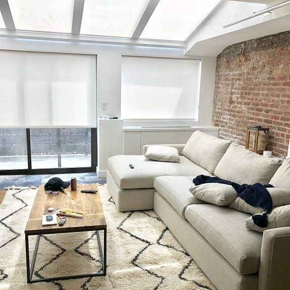 New York Skylight Roller Shades