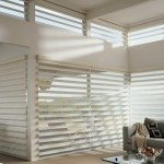 Motorized Pirouette Shades