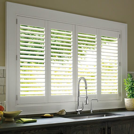 Motorized Plantation shutters