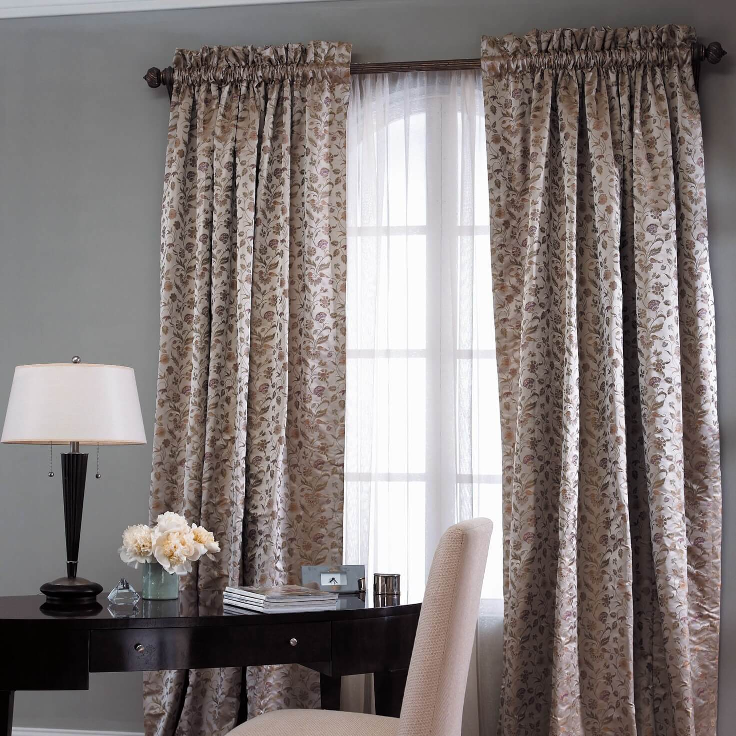 Rod pocket drapes manual motorized rod pocket drapes for Curtains and drapes nyc