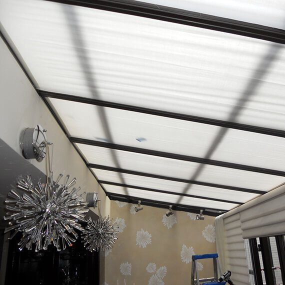 Skylights bring stunning light visual interest to your home