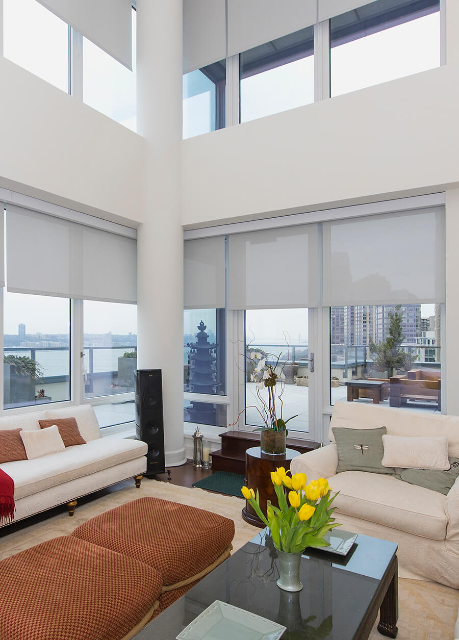 Trump Towers Residence Window Treatments Nyc Shades