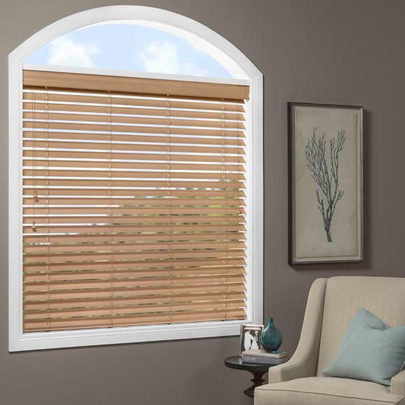 Manual Wood Blinds