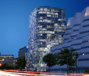 Luxury Apartments Jean Nouvel Design Motorized Solar Shades – Luxury Shades New York in Style