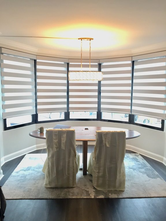 Hunter Douglas Banded Shades Lincoln Plaza Towers New York