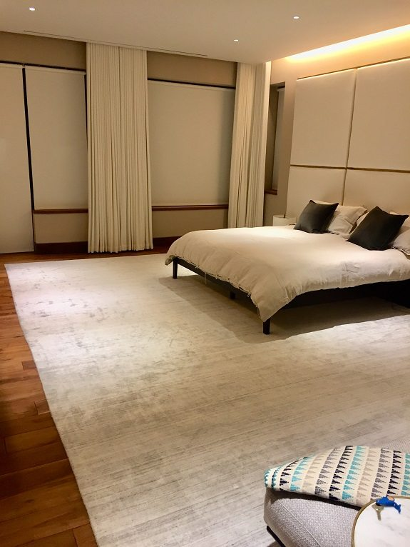 Master Bedroom Drapery