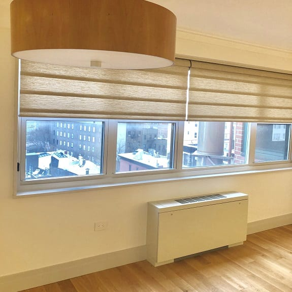 Privacy Vignette Roman Shades gallery