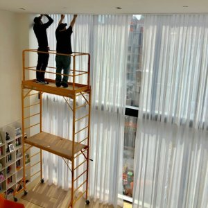 Motorized Draperis & Shades installation new york