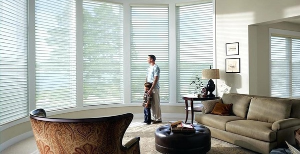 Silhouette Window Shadings to transform light