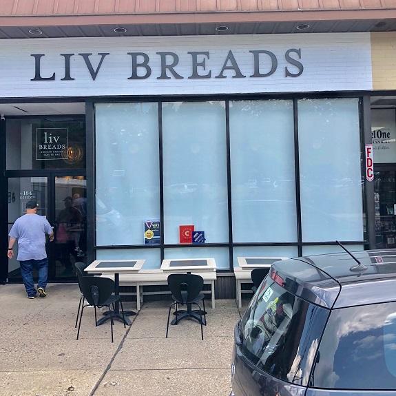NJ Bakery window treatments