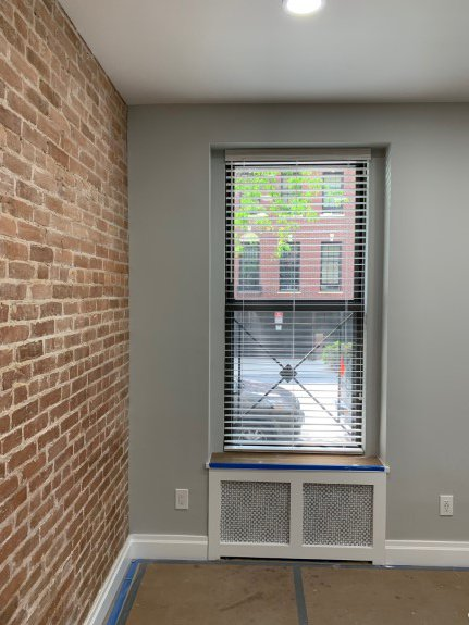 151 East 81 St. Wood blinds