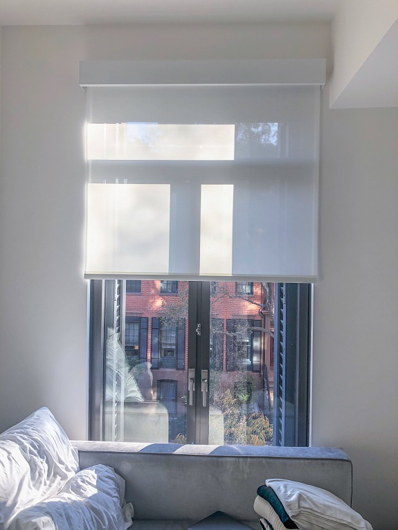 141 West 11 St. Lutron Solar Shades with Fascia 3