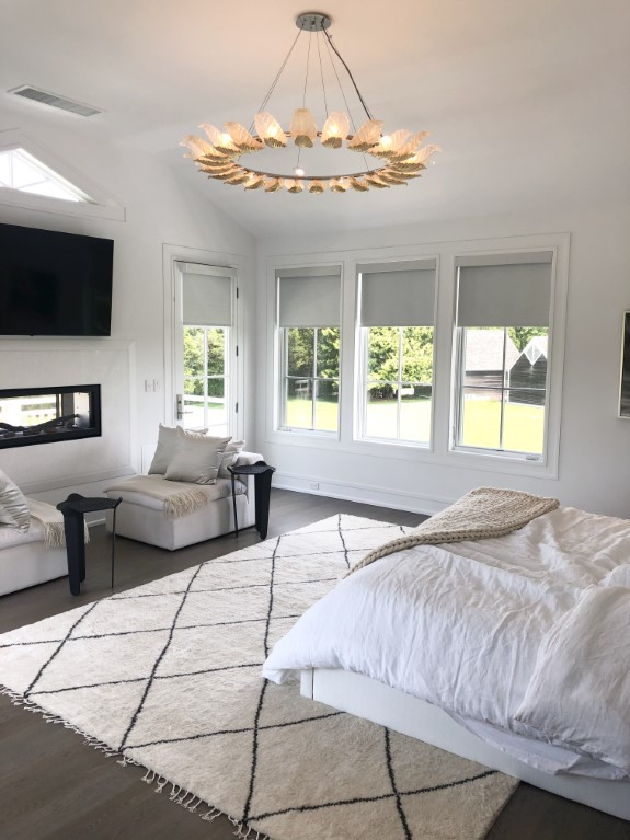 Blackout Roll Shades with Balmoral Fabric