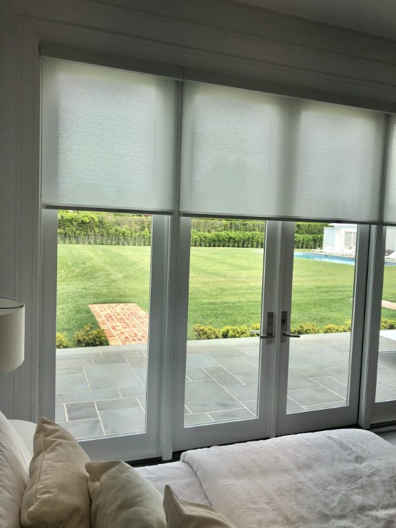 Inspiration - Roller Shades with Balmoral Fabric