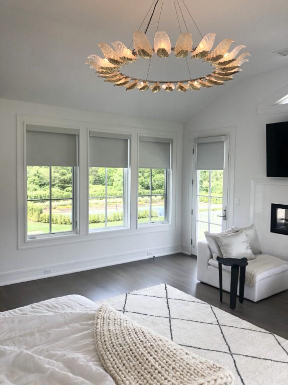 Roller shades inspiration for living room