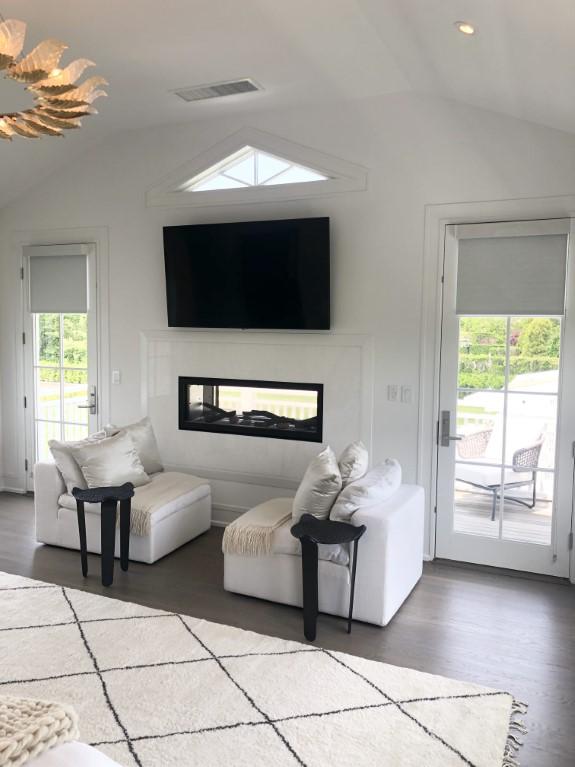 living room window shades inspiration