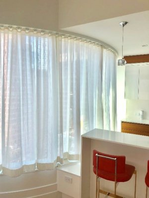 sheer ripple fold curtains